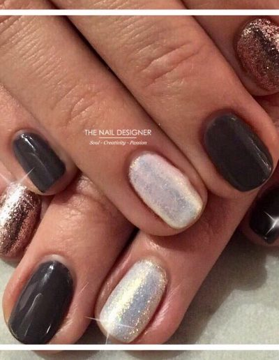 TheNailDesigner - Gelish - Glitters Pigments and Art (18)