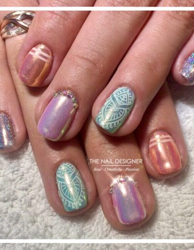 TheNailDesigner - Gelish - Glitters Pigments and Art (21)